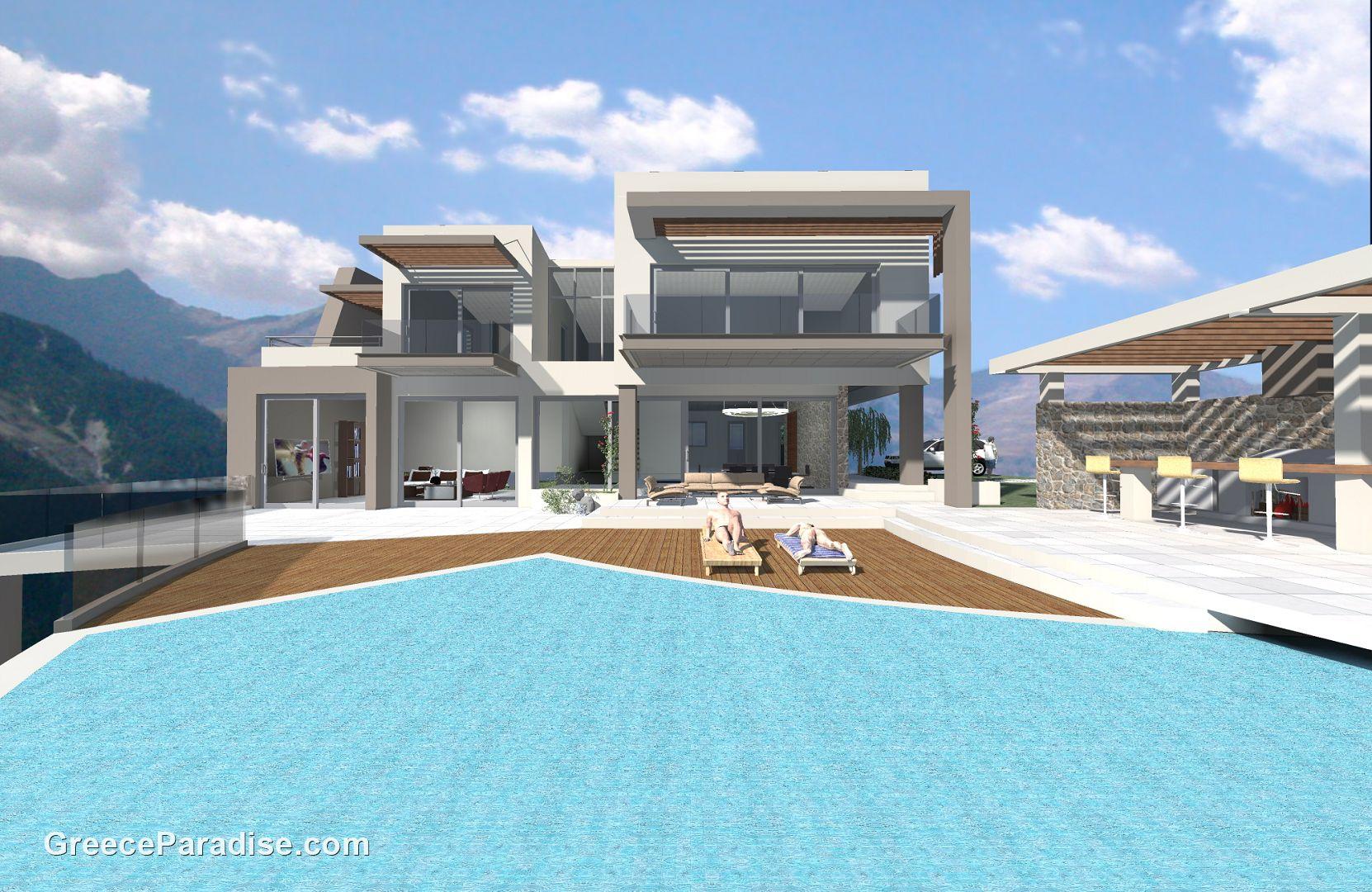 Projet de construction p p 0330 greece paradise for Projet de construction