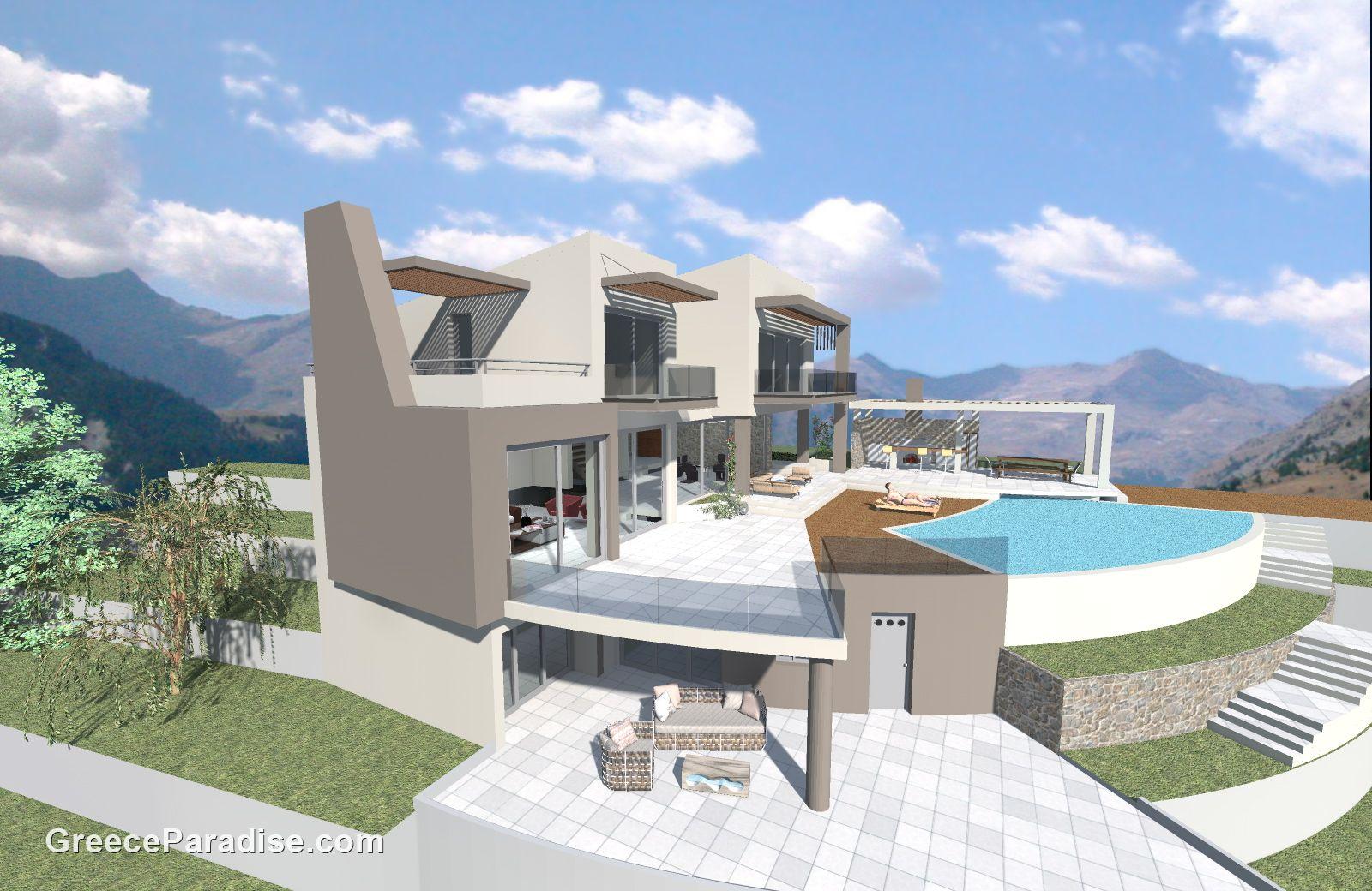 Projet de construction p p 0330 greece paradise for Projet construction